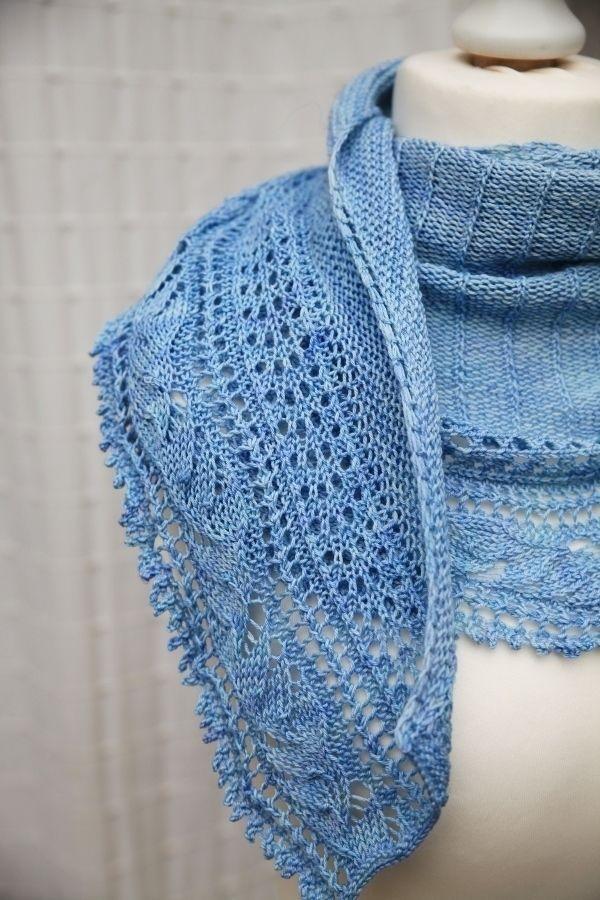 Châle L'envolée - explications tricot - Tutoriels de tricot chez Makerist