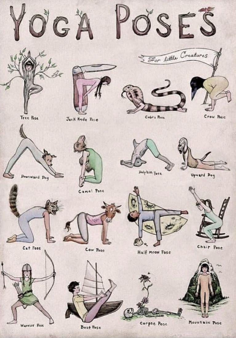 Yoga pose drawings #pilatesposes Yoga pose drawings #fitness inspiration desenho
