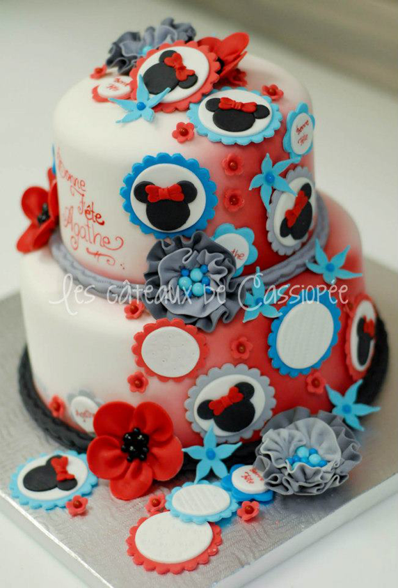 Beautiful Cake Pictures Minnie Mouse Birthday Cake Birthday Cakes
