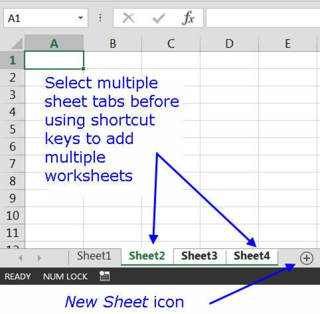 Use This Excel Shortcut To Add Worksheets Pinterest Worksheets
