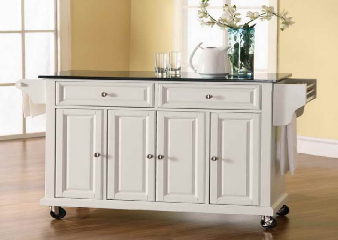 10 Types Of Small Kitchen Islands On Wheels | Small White Kitchens, Portable  Kitchen Island And Wheels