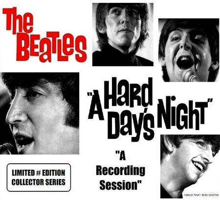 BEATLES A HARD DAY'S NIGHT A RECORDING SESSION LTD 3CD