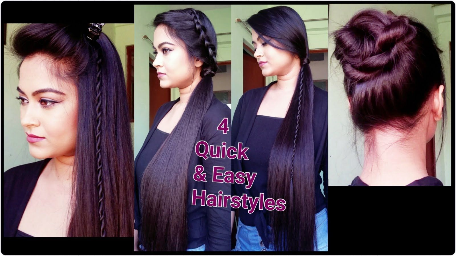 Quick hairstyles for long hair indian hairstylesforlonghair indian