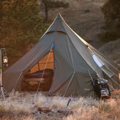 Setting up this 8-person Outback Lodge tent is as simple as (1) & Setting up this 8-person Outback Lodge tent is as simple as (1 ...