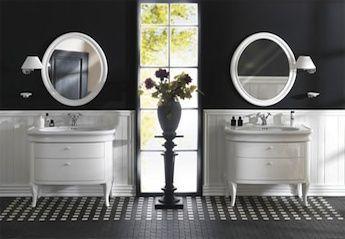 klassieke wastafels, badkamer meubels | klassiek sanitair | pinterest, Badkamer