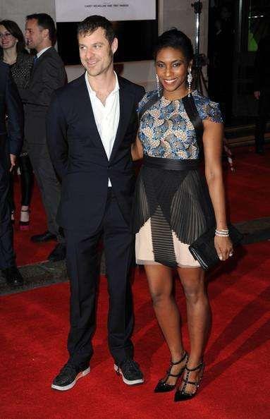 White celebrity men married to black women