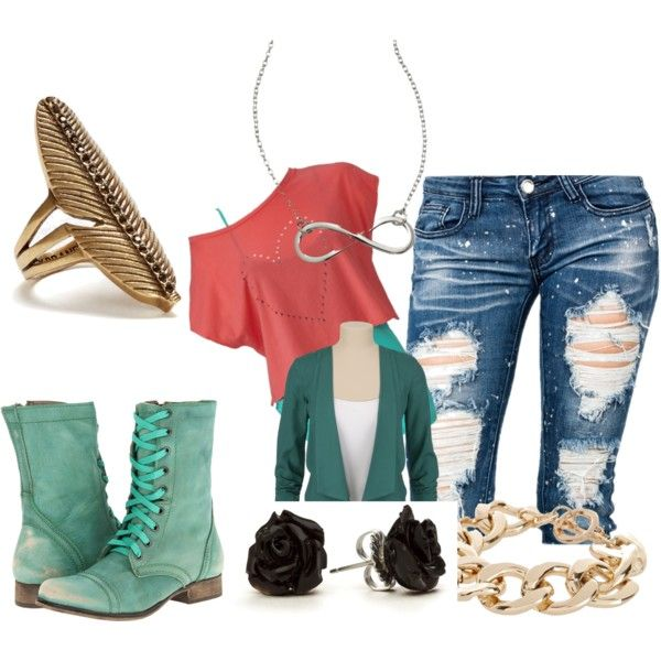 A fashion look from January 2013 featuring Steve Madden boots, Lucky Brand rings and River Island bracelets. Browse and shop related looks.