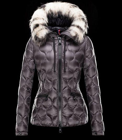 Boutique Moncler femme Doudoune GRESFUR fourrure capuche veste Haute Qualité