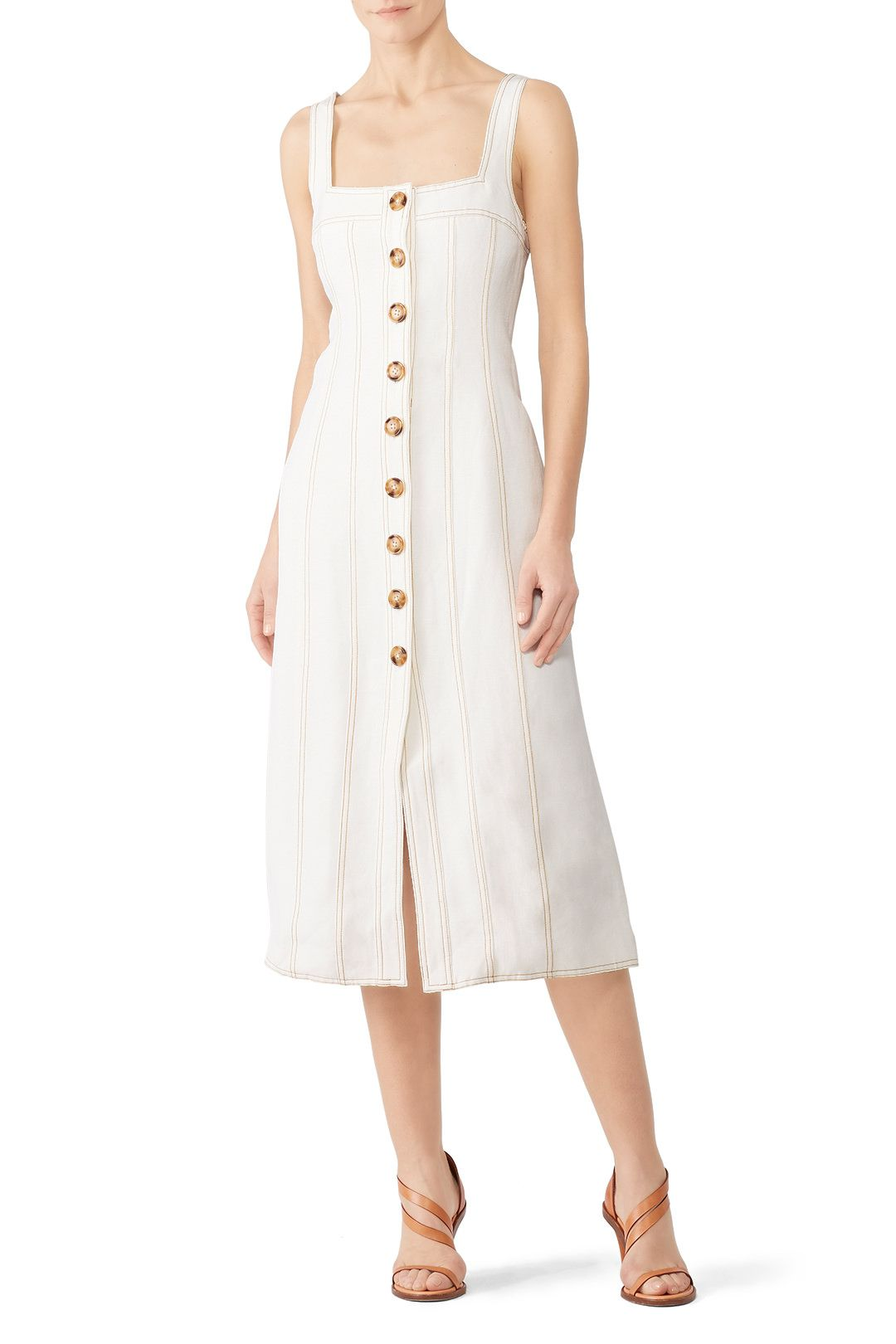 Rent Devoted Midi Dress By C Meo Collective For 35 Only At Rent The Runway Dresses Daytime Dresses Casual Dresses