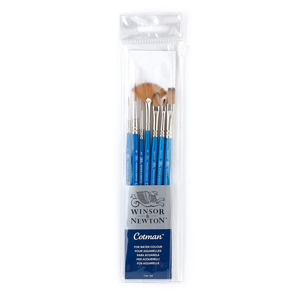 Winsor Newton Cotman 7 Brush Set Best Watercolor Brushes