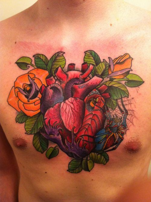 blackgardentattoo:    By Cesar Mesquita.  Won 3rd place best of Saturday at Ink Explosion!