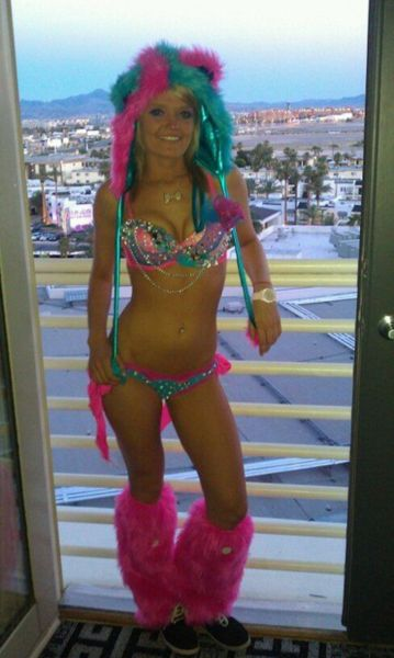 Sexy Monster Halloween Costume Ideas for Women Dj Hotties - halloween costume ideas for female