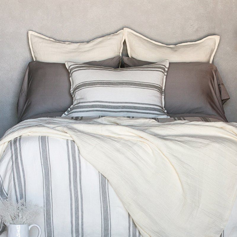 Jackson Duvet Cover Set Single Duvet Cover Single Duvet Gray