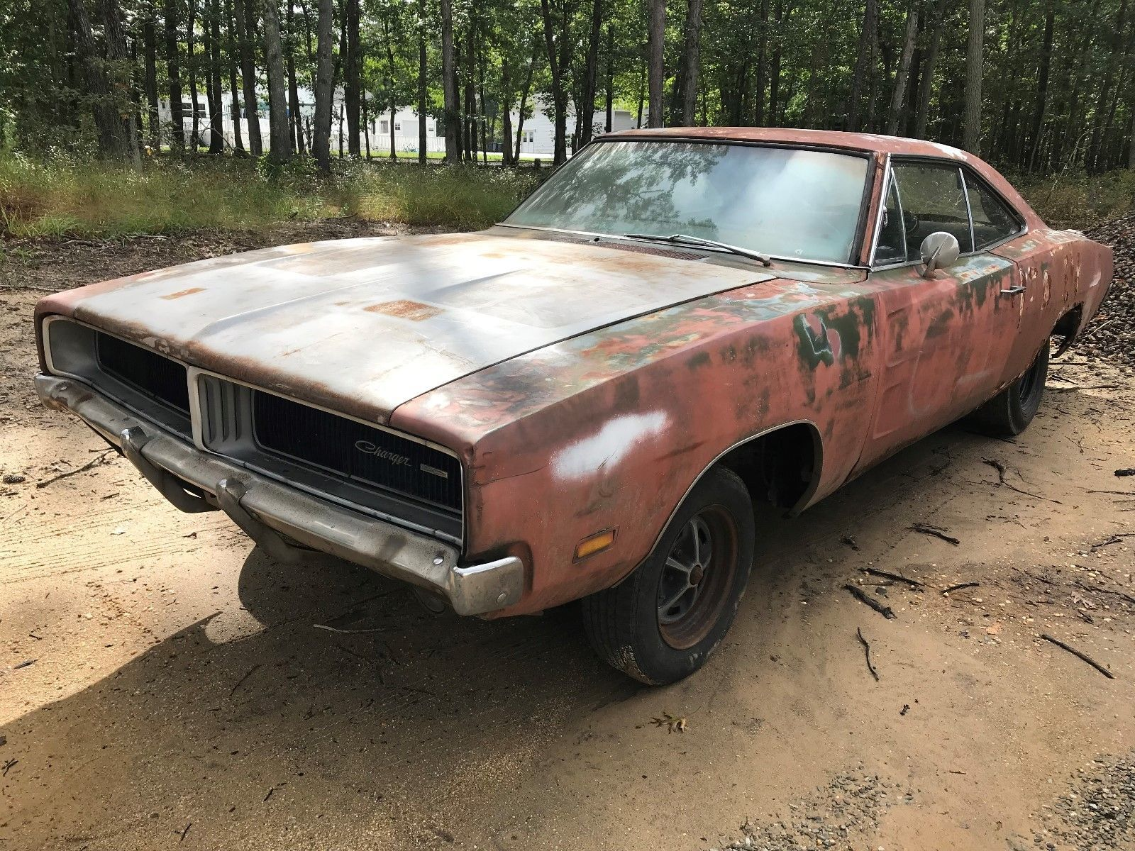 Solid 1969 Dodge Charger Project 1969 Dodge Charger Dodge Charger Project Cars For Sale