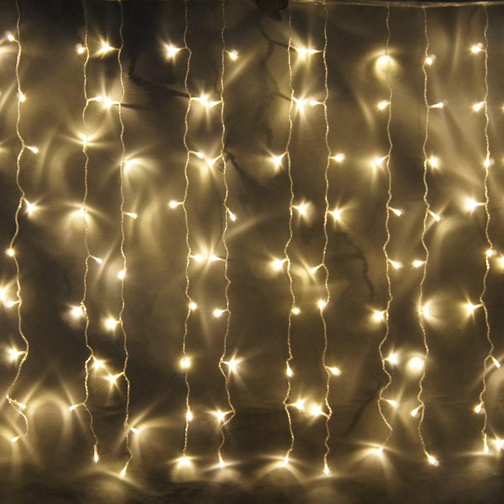 Cortina de luces led 2 metros ancho x 1 5 metros alto for Cortinas con luces