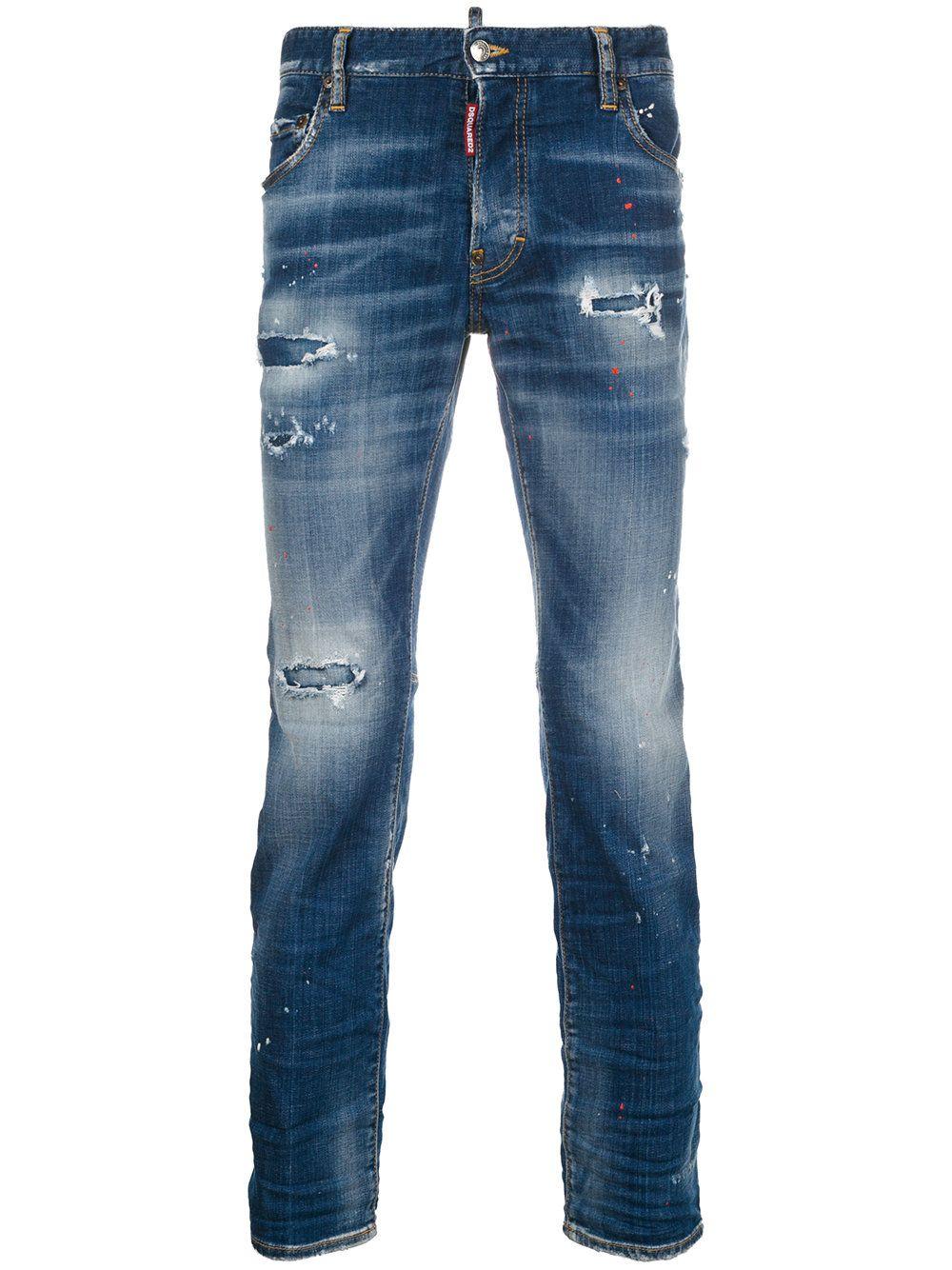 c51aeb760ea DSQUARED2 . #dsquared2 #cloth # | Dsquared2 Men | Denim jeans men ...
