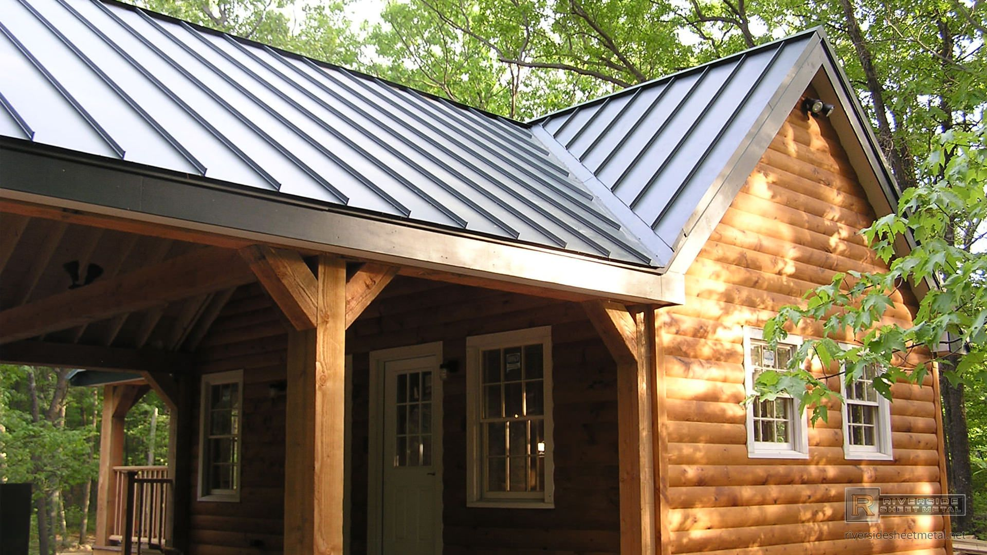 Sheet Metal Roofing Exposed To The Harshest Outdoor Elements Year Round, Is  Usually Hot Dipped Or Electroplated.