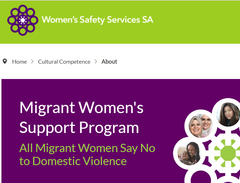 Our Migrant Women's Support Program values the right of
