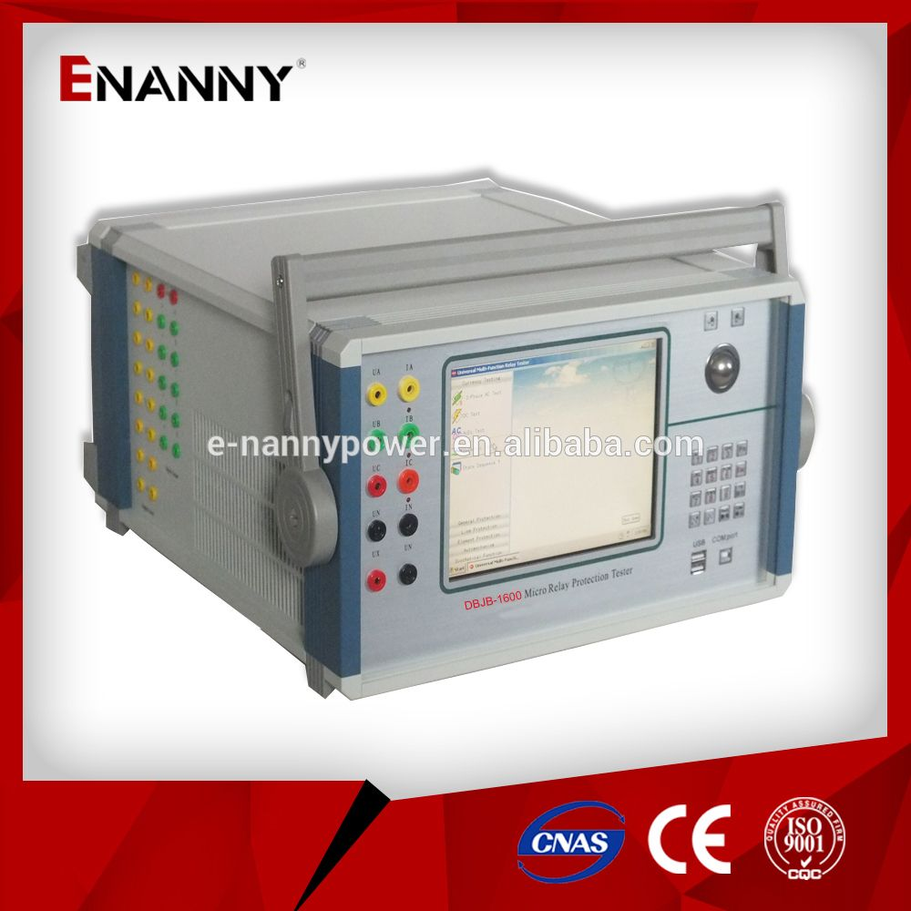 DBJB1600 SIX PHASE UNIVERSAL PROTECTION DEVICE RELAY TEST KIT is a