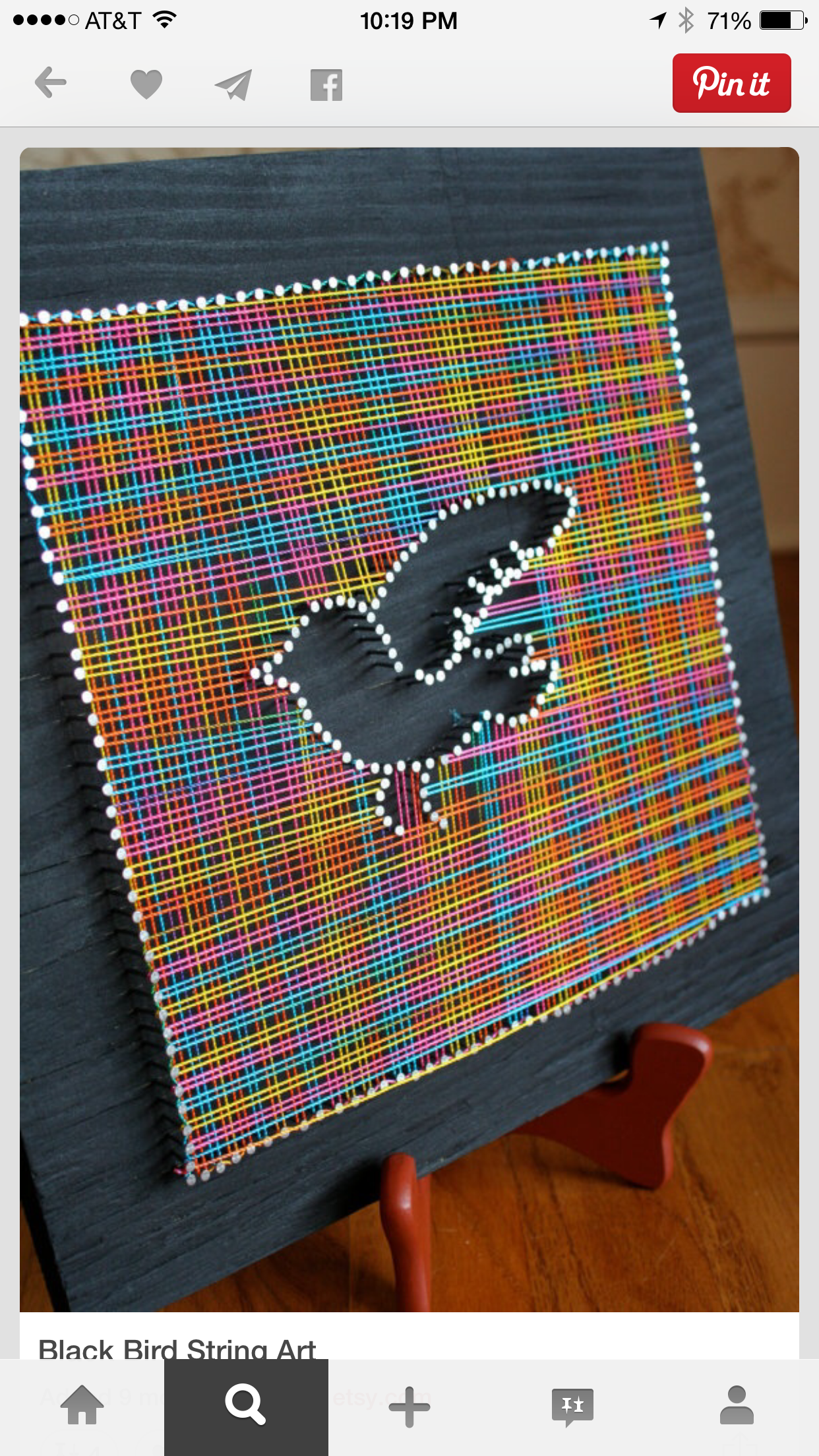 String Art, Craft Ideas, Diy, Photos, Creative Inspiration, Ideas, Bird,  Projects, Build Your Own