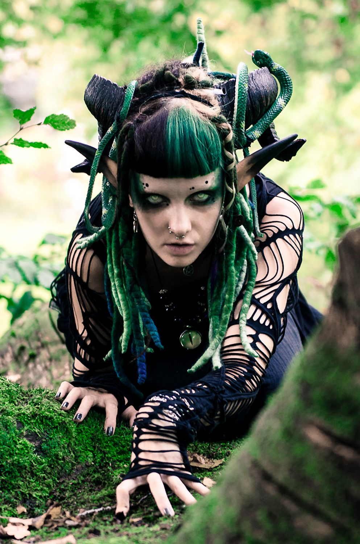 forest witch by on deviantart larp daemons pinterest. Black Bedroom Furniture Sets. Home Design Ideas