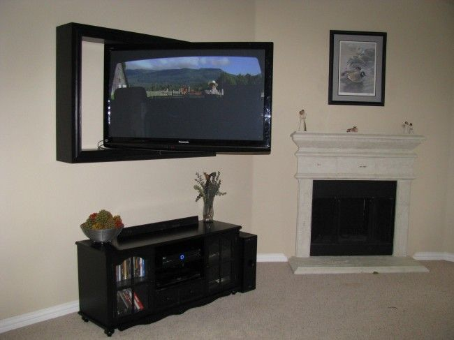 Flat screen framing Project Gallery, Custom TV Frame Projects ...