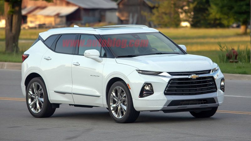 2019 Chevy Blazer Spied For The First Time Uncovered On Public Streets Chevy Trailblazer Chevy Suv Chevrolet Blazer