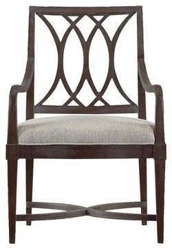 Stanley Coastal Living Resort Heritage Coast Arm Chair Channel Marker 062-11-70 - contemporary - Dining Chairs - Hayneedle