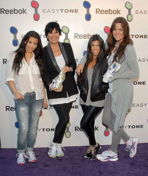 celebrities wearing reebok
