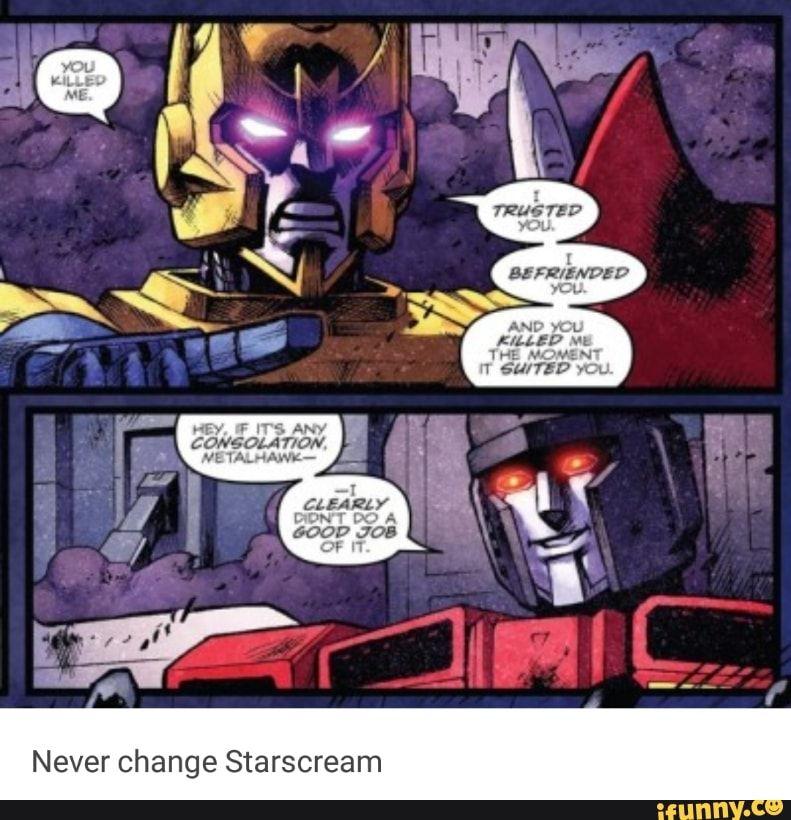 #transformers, #starscream, #metalhawk