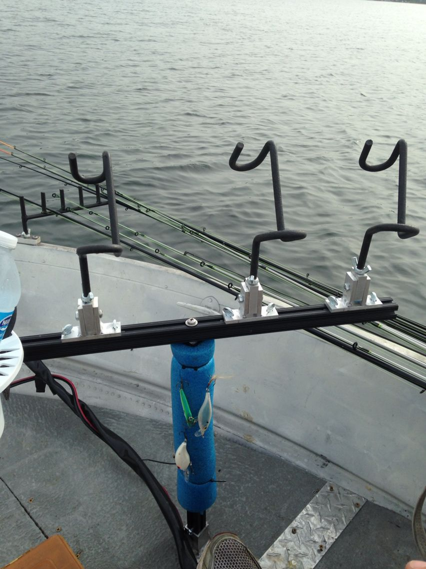 Spider Rig T Bar Fishing Rod Holders