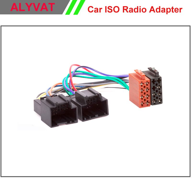 Car ISO Stereo Adapter Connector For Chevrolet 2006-2011 Saab 9.5 ...
