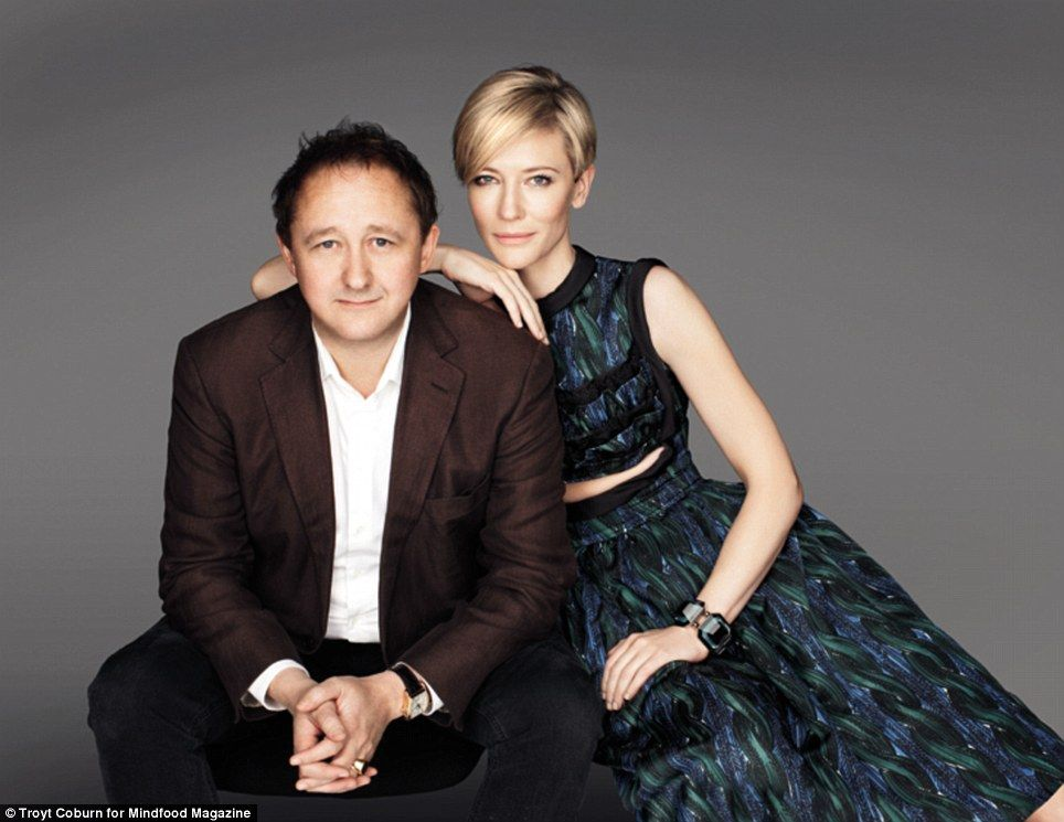 Cate Blanchett and husband Andrew Upton were described as