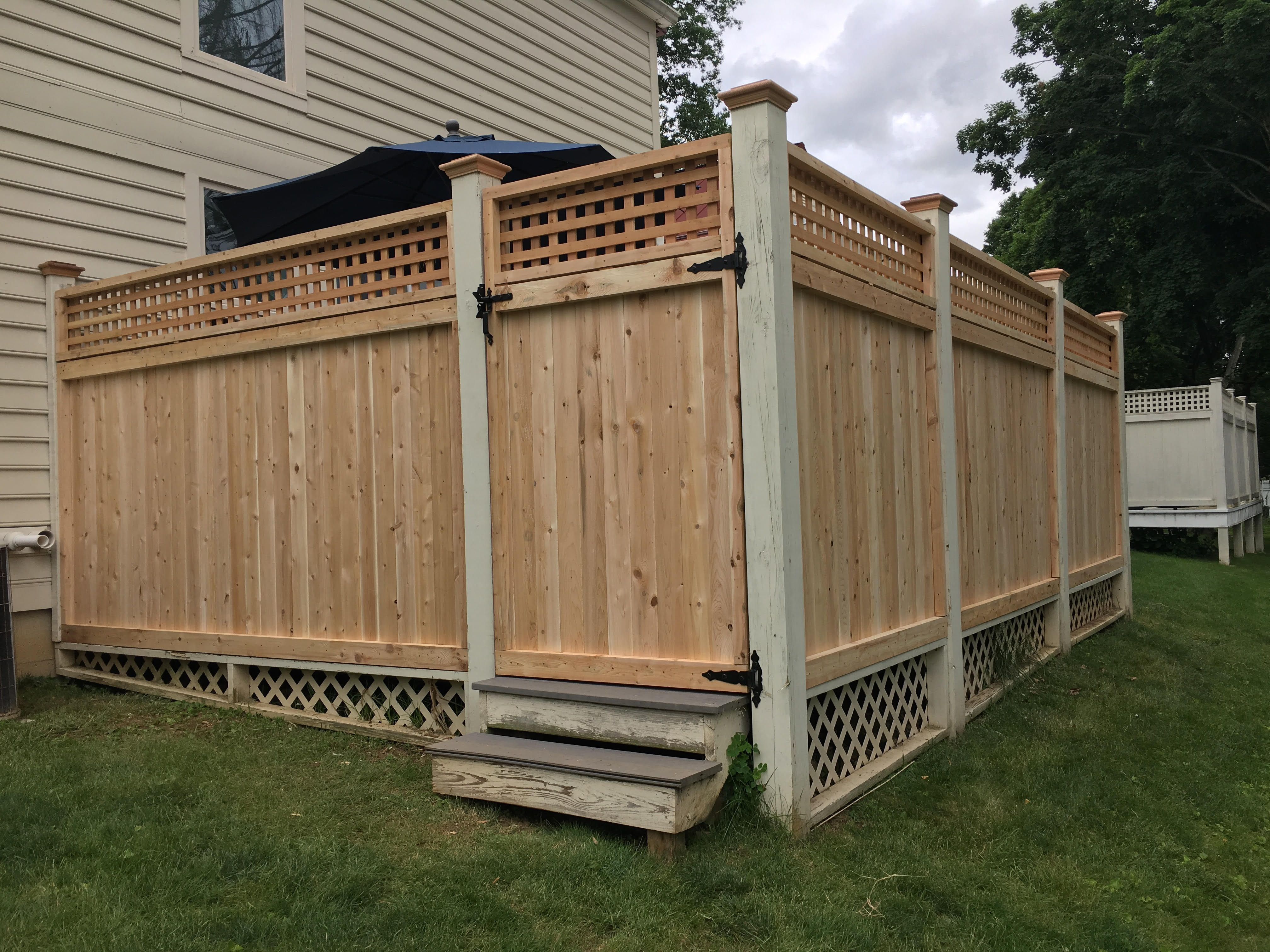 Pin By Fence Authority On Wood Fences Wood Fence Diy Fence Fence