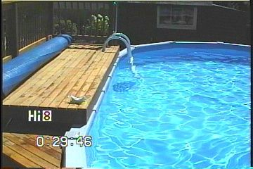Close Up Deck Edge Above Ground Pool Google Search Pool Time