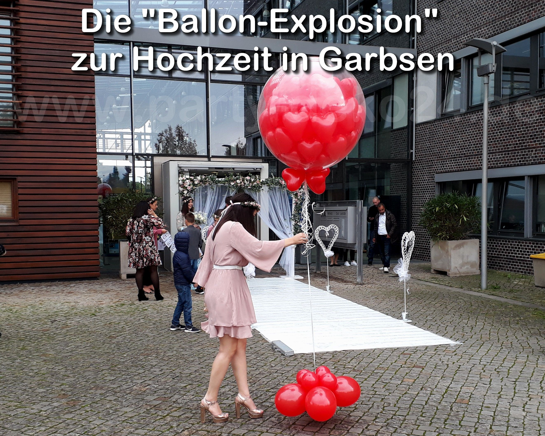 Ballon Explosion Explosionsballon Party Artikel Party Hochzeitsdeko