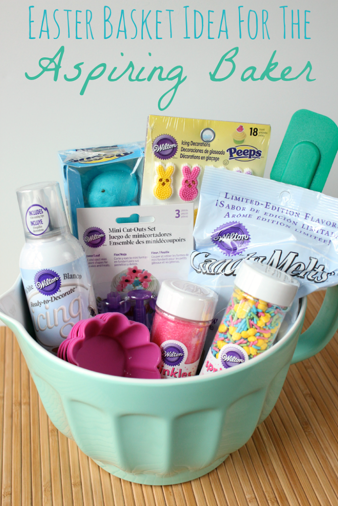 Easter baskets aren't just for kids anymore. This basket is ...