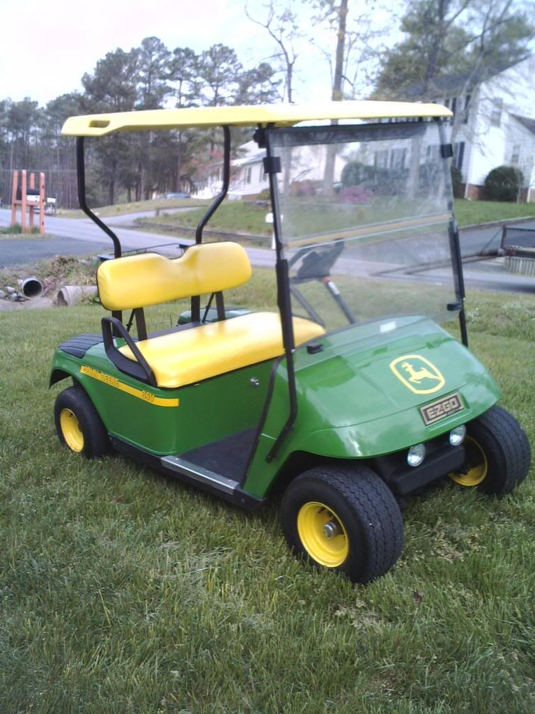 Paint our golf cart like this | Green collection | Golf cart