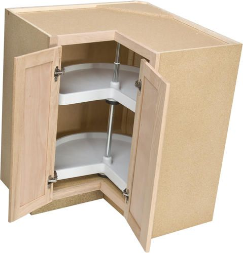 lazy susan corner base kitchen cabinet for cabinets nz sink double door drawer doors