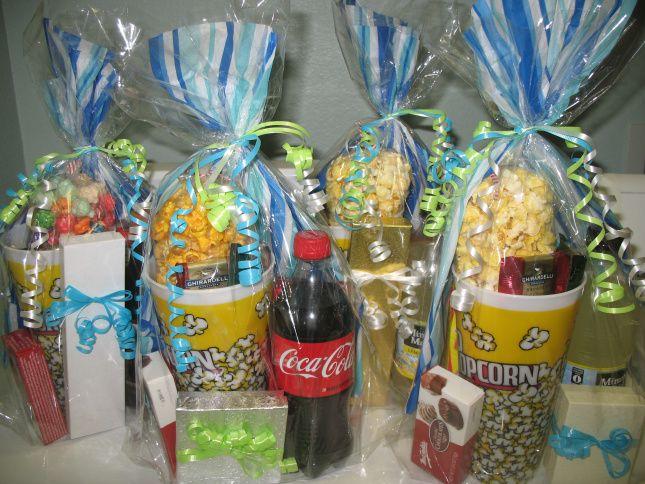 Movie Night Goody Bags Birthday Ideas For The Girls Ideas Movie