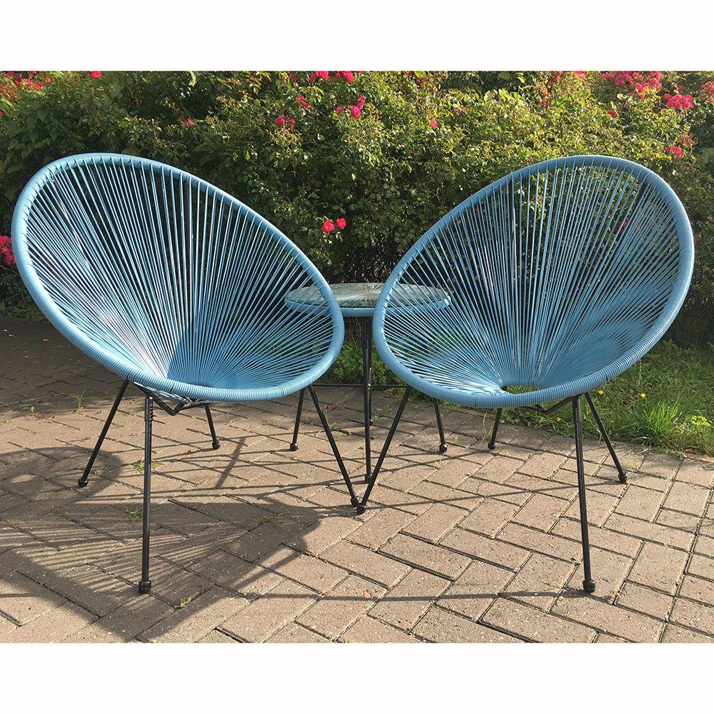 Royal Craft Monaco Egg Chair Set The UK's No. 1 Garden
