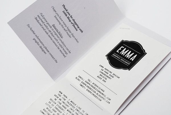 Receipt booklet for the \