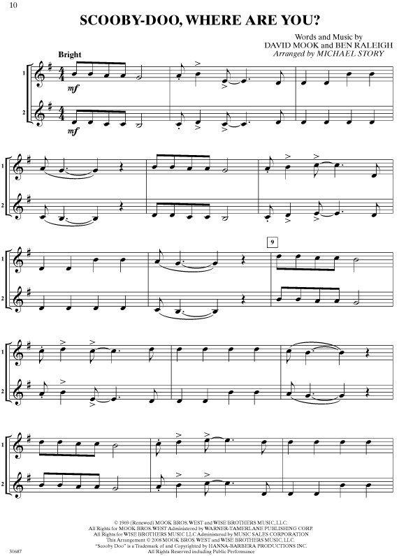 B Flat Clarinet Music For Beginners Bass clarinet printabl...