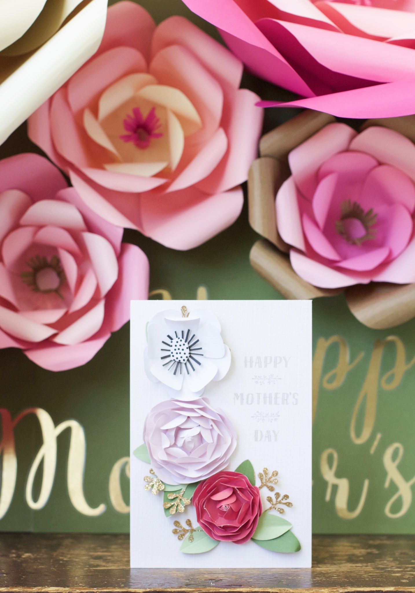 How To Make Large Paper Flowers I Just Might Make That Pinterest