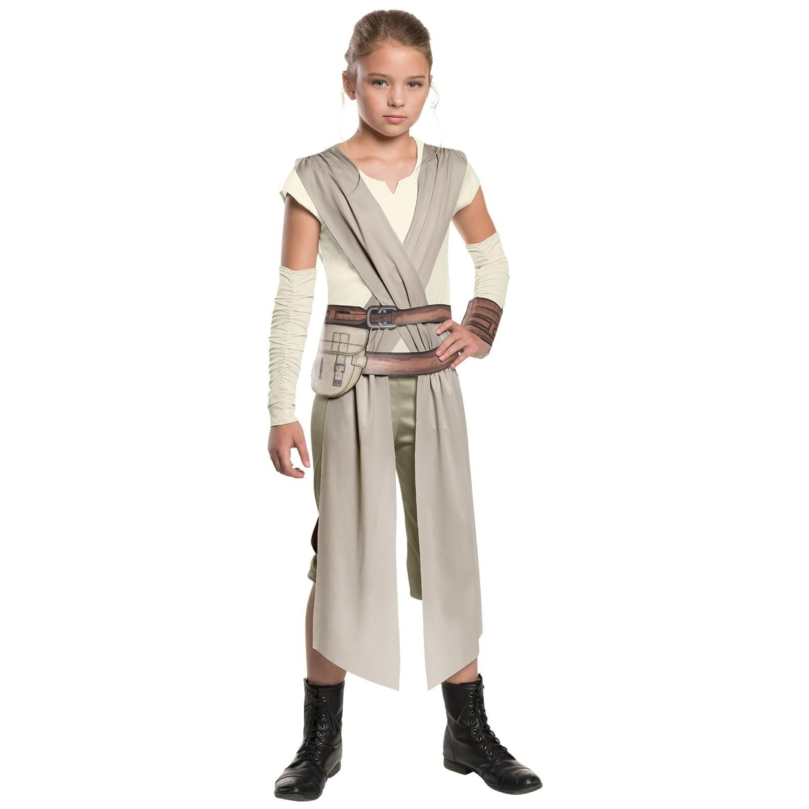 Star Wars: The Force Awakens - Classic Rey Costume For Girls ...