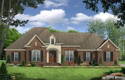 3 Bedroom 2 Bath Country House Plan Alp 09t7 French Country House Plans Craftsman Style House Plans House Plan Gallery