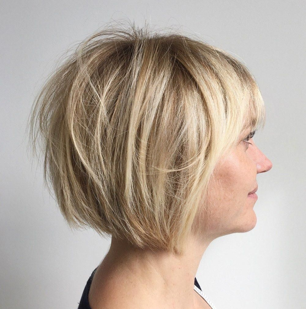 100 Mind Blowing Short Hairstyles For Fine Hair In 2021 Short Bob Hairstyles Bob Haircut With Bangs Bob Hairstyles