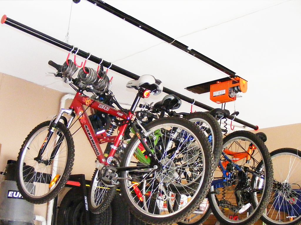 design bike rack hanging storage carolicious ideas garage