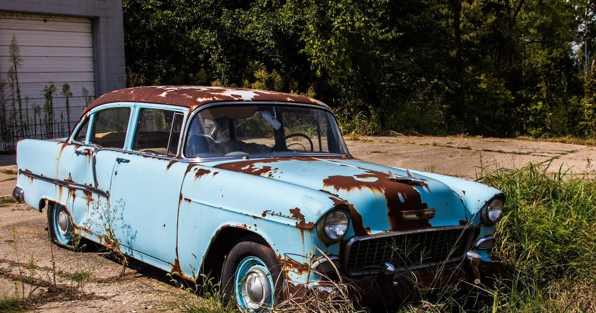 Old Cars Rusty in 2020 Old classic cars, Used car parts, Car