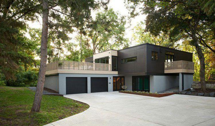 Case Moderne Esterni : Foto degli esterni di case moderne dal design incredibile iso